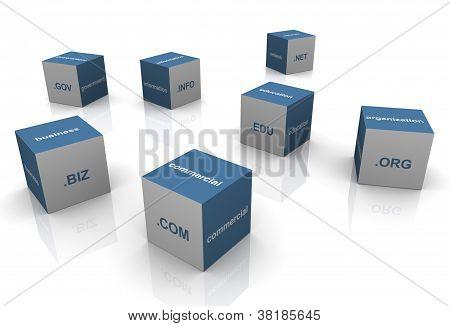 3D Domain Extension Textboxes
