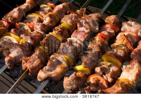 Kabobs Grilled