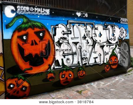 Halloween Graffiti