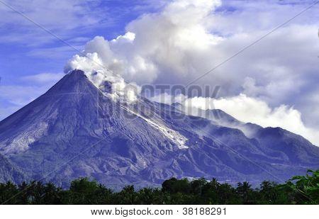 Mt. Merapi - C. Java - Indonesia