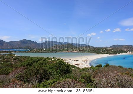 Porto giunco beach, Villasimius, Sardinia