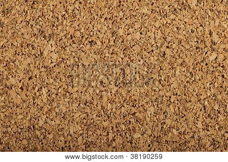 Corkboard Texture With A Large Grain