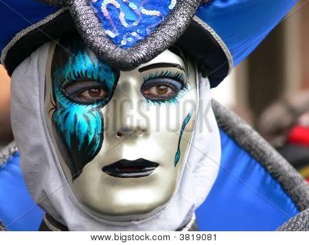 Blue Venice Mask