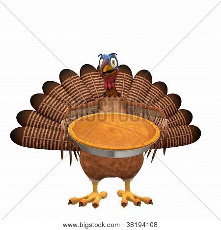 Turquia Toon - torta de abóbora