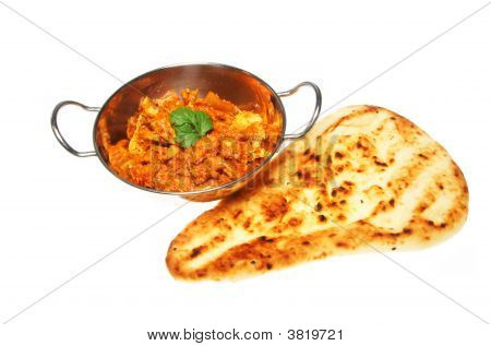 Chicken Curry And Nan