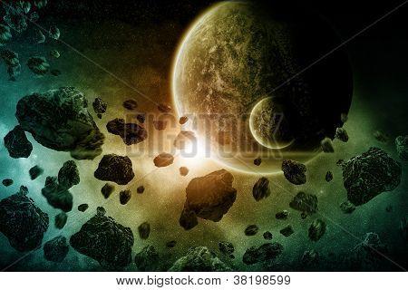 Planet Erde Apokalypse
