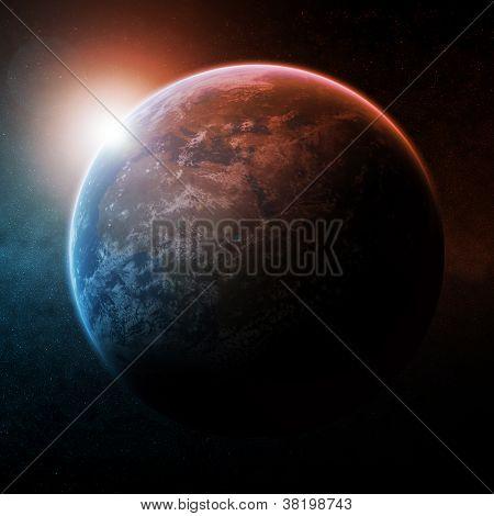 Planet earth apocalypse