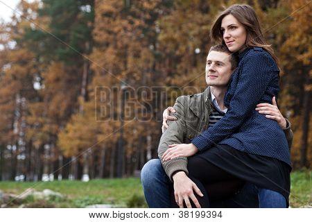 Girl Sitting On Lap Men