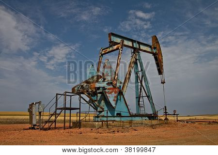 North Dakota Oil Pumper - Oil Jack