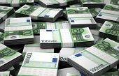 stock photo of billion  - Billion Euros Concept Image  - JPG