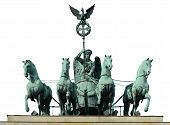 stock photo of charioteer  - The quadriga  - JPG
