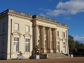 foto of neo-classic  - This neo classical XVIIIth castle is famous for hosting the Polish government in exile from september 1939 to june 1940 during world war II - JPG