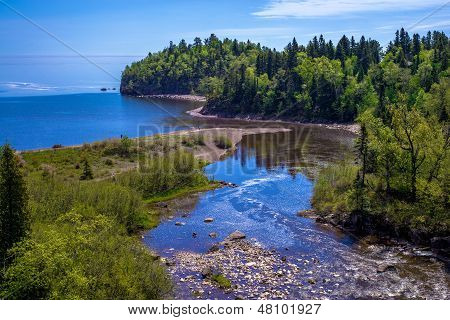 Agate Hunting, Beaver River, Lake Superior