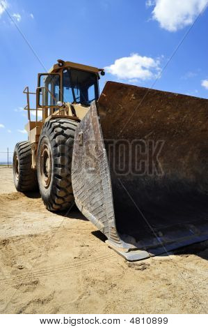 Bucket On Front Of Backhoe