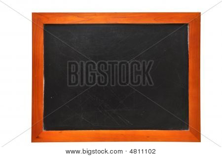 Blank Chalkboard (with Clipping Path)