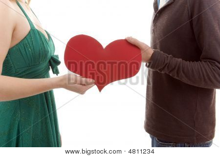 Couple Sharing Their Heart