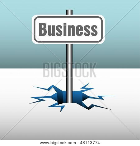 Business plate