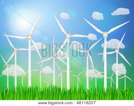 Wind Generators Landscape