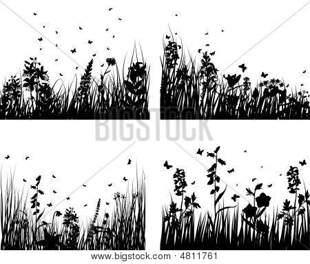 Set de hierba