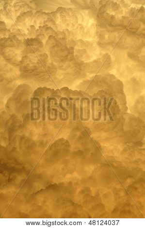 Sunset Cloud Background
