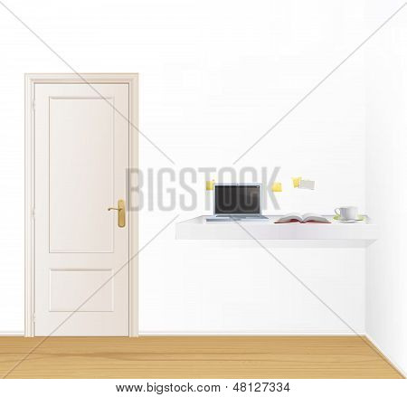 Room With Several Elements For Learn