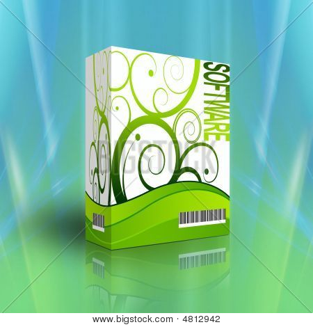 3D Software Box For Generics Products