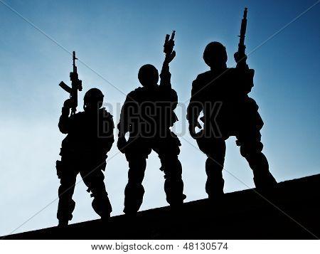 Equipe da SWAT.