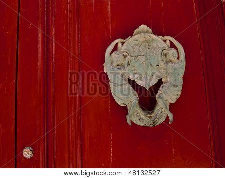 Red Door Crest