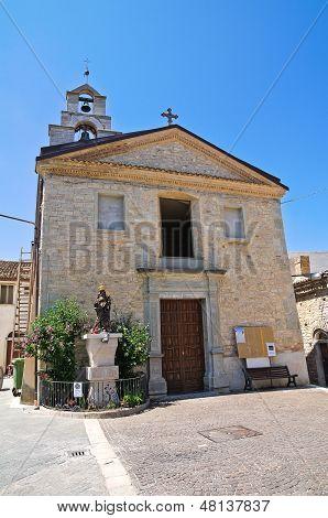 Church of St. Nicola. Roseto Valfortore. Puglia. Italy.