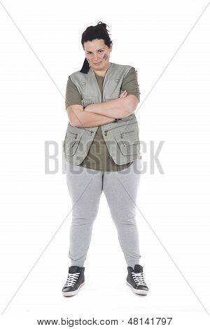 Girl Self Confident Defiant