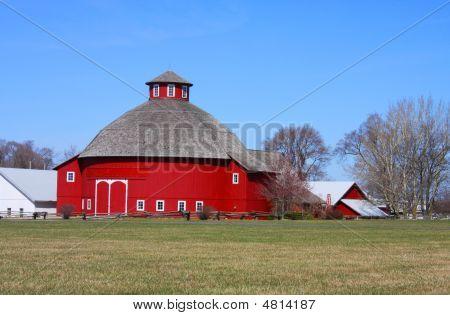 Celeiro redondo Amish