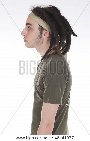 Improbable Soldier With Dreadlocks