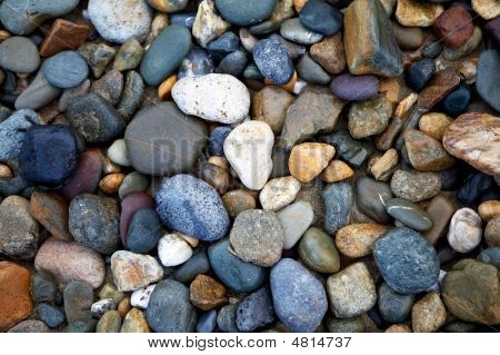 Abstract River Rocks