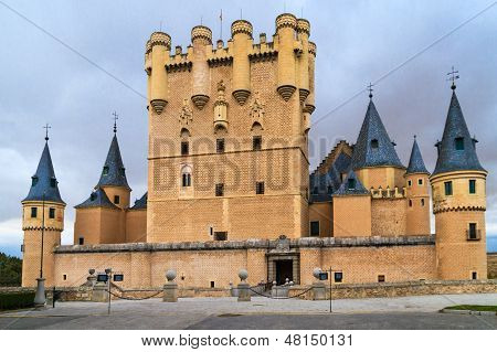 Alcazar Of Segovia (spain)