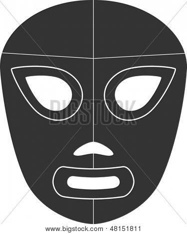 mexican wrestling mask symbol