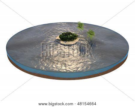 tropic mini island
