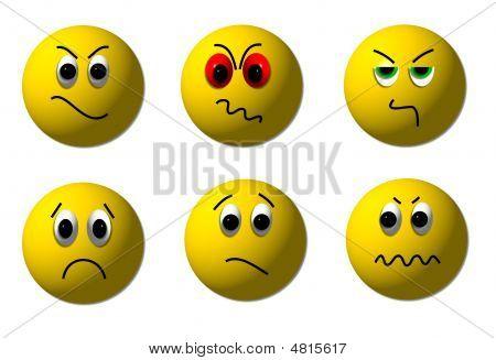Angry Smileys