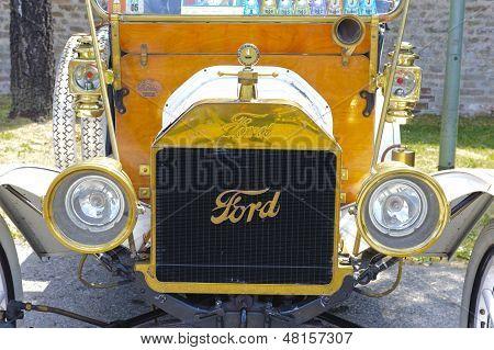 rally de carro Oldtimer