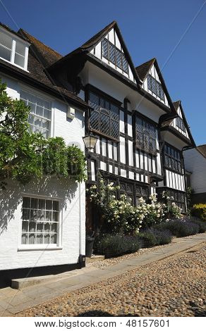 English cottages. Rye West Sussex.
