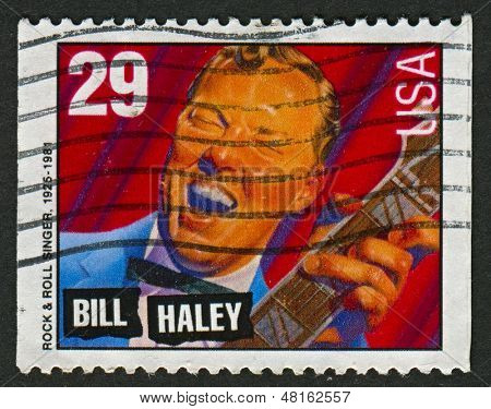 USA - CIRCA 1993: A stamp printed in USA shows image of the William John Clifton