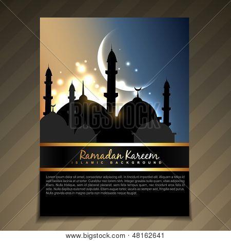 vector shiny eid ul fitar festival backgorund