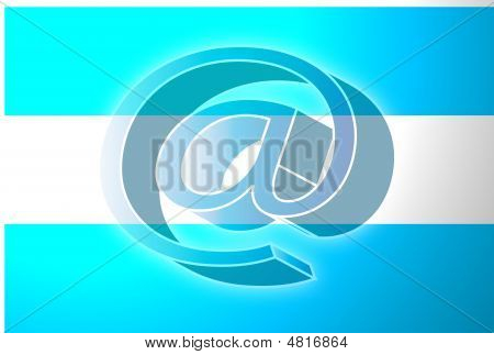 Argentina Flag Internet Illustration