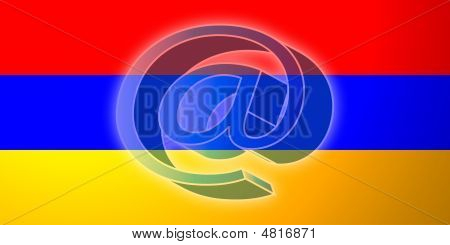 Armenia Flag Internet Illustration