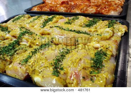 Mustard Chicken Fillet Steaks
