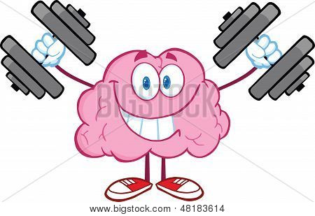 Smiling Brain Character Training With Dumbbells