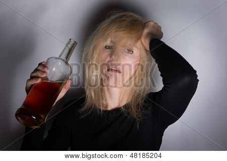 Alcoholic Woman