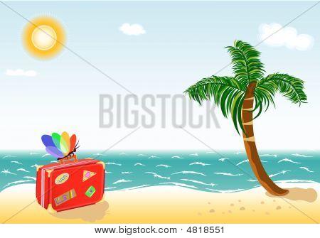 Summer Holidays Travel To Exotic Beach Paradise