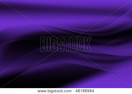 Purple Abstract Curve And Line Background