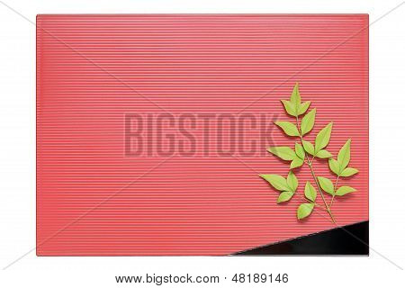 plate and leaf