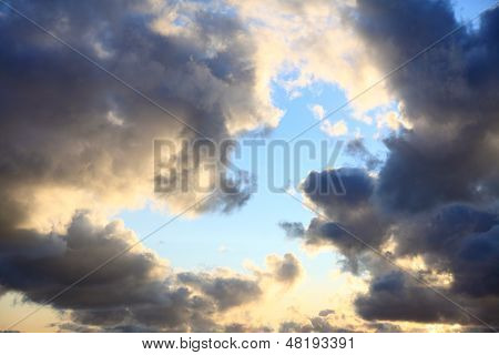 Sky, Storm, Tempest, Sky Clouded